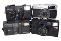 35mm Film Compact Camera's