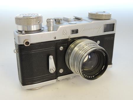 Russian Lenningrad Motorised Body + 50mm f2 Jupiter 8 Lens + Case