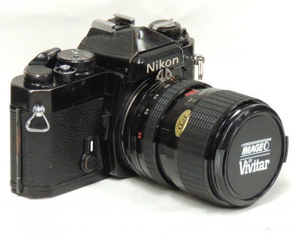 Nikon FE + 28-70mm f3 8/f4 8 Vivitar Lens