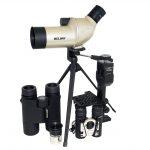 Binoculars, Monoculars, Spotting Scopes + Telescope Accs