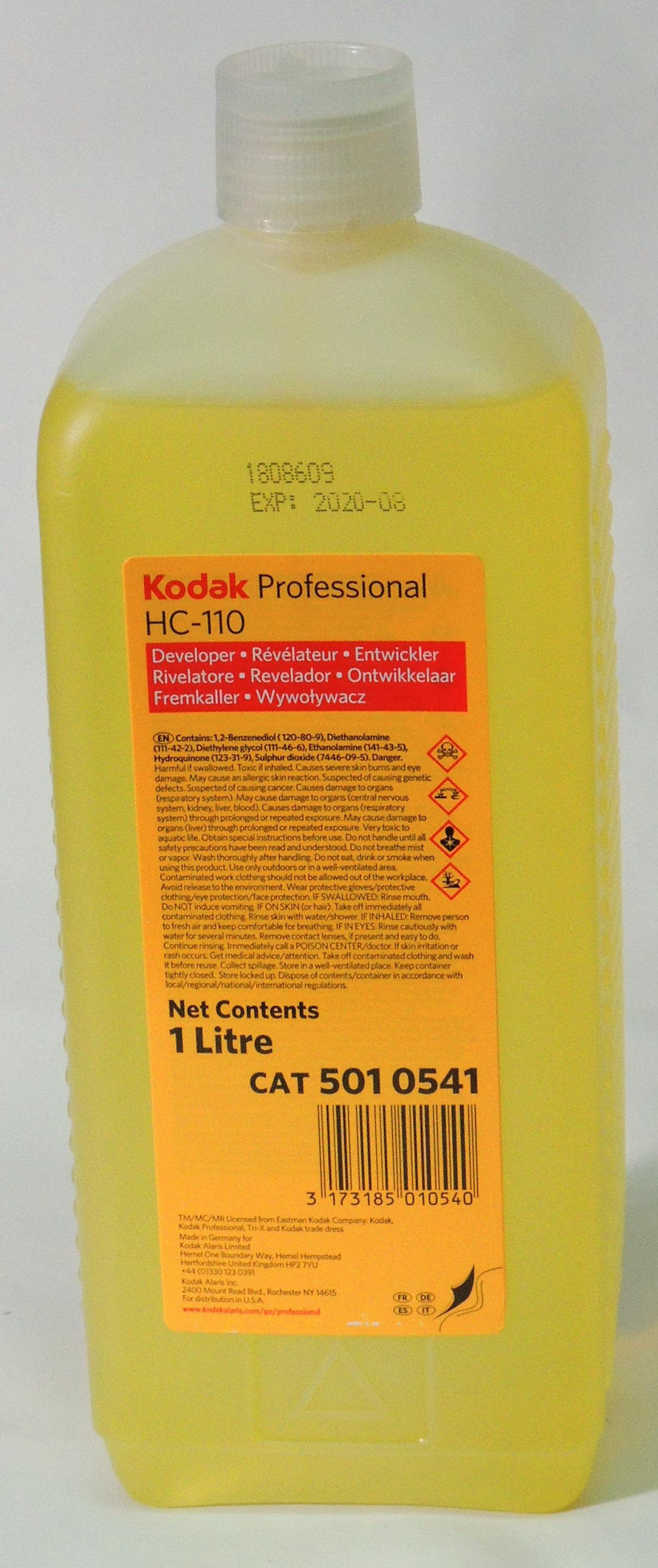 Kodak Professional HC 110 Developer - 1L Concentrate