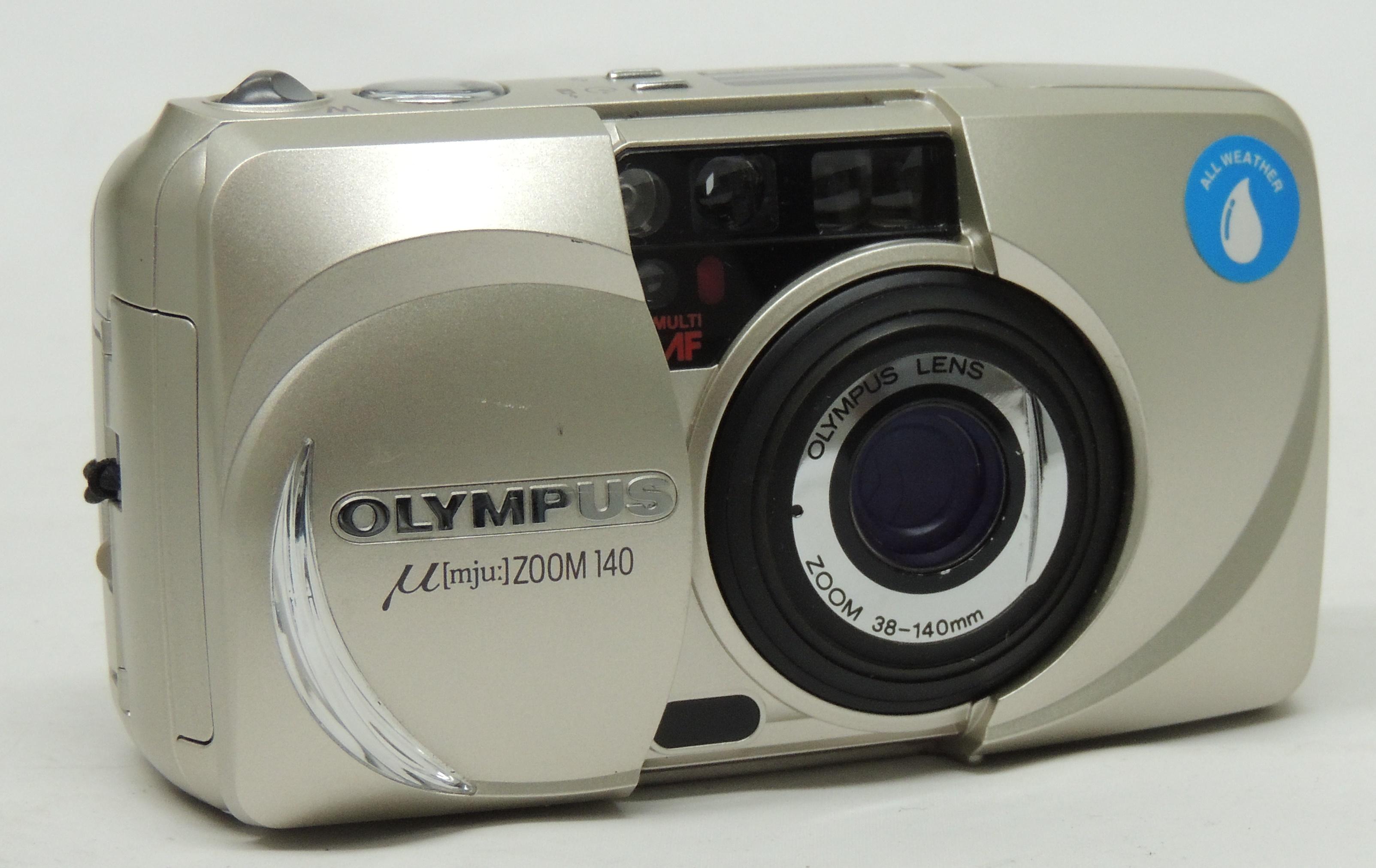 Olympus MJU Zoom 140 35mm Film Camera - 38-140mm Zoom Lens