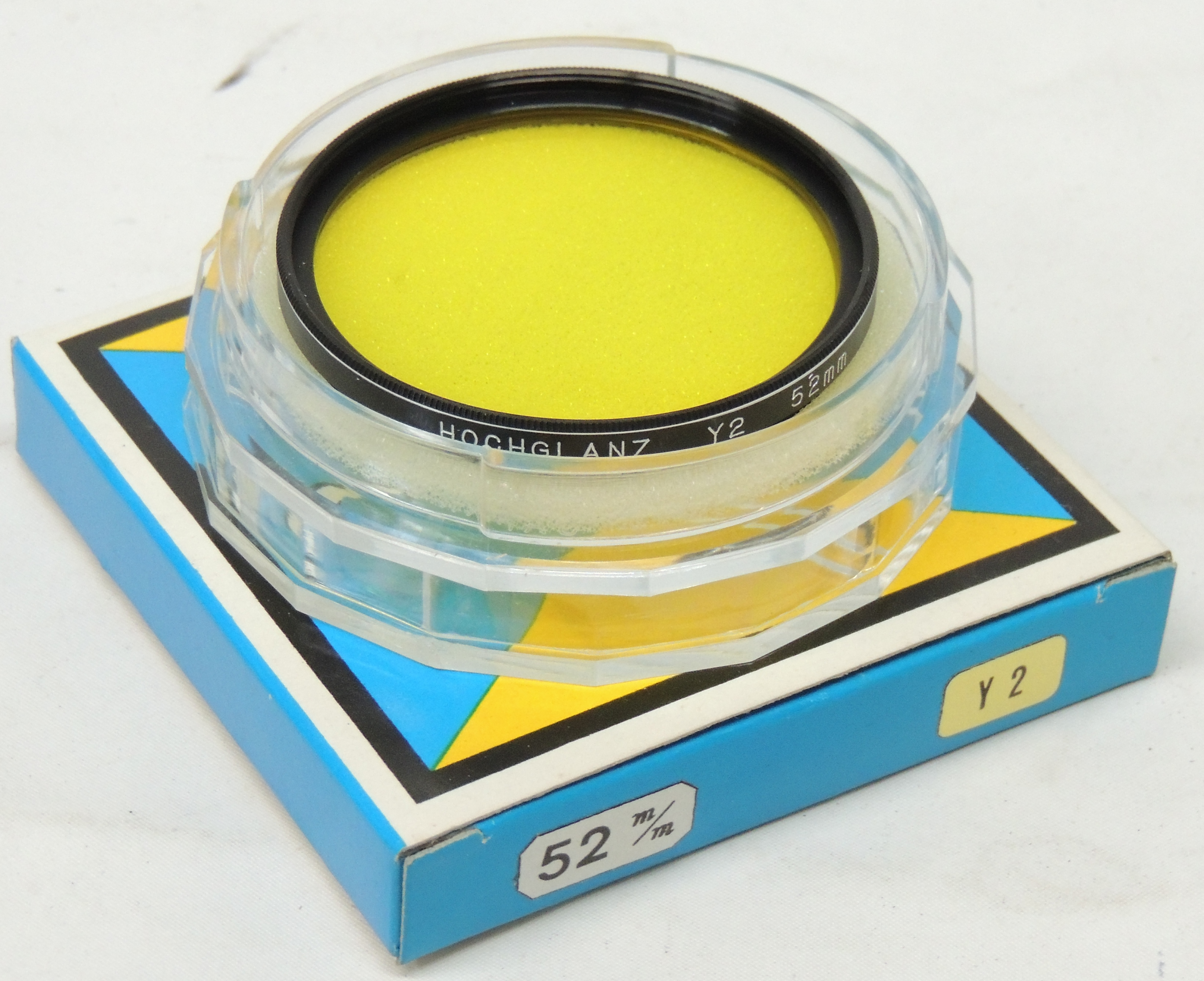 Sunagor 52mm threaded yellow green filters 2 for the price of 1